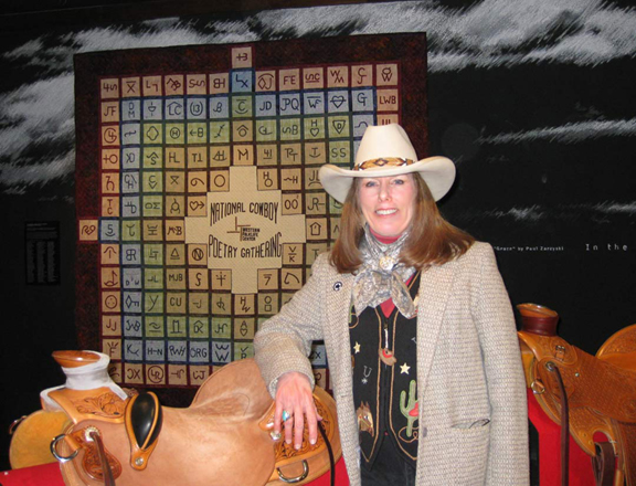 Wendy with Hollenbeck quilt